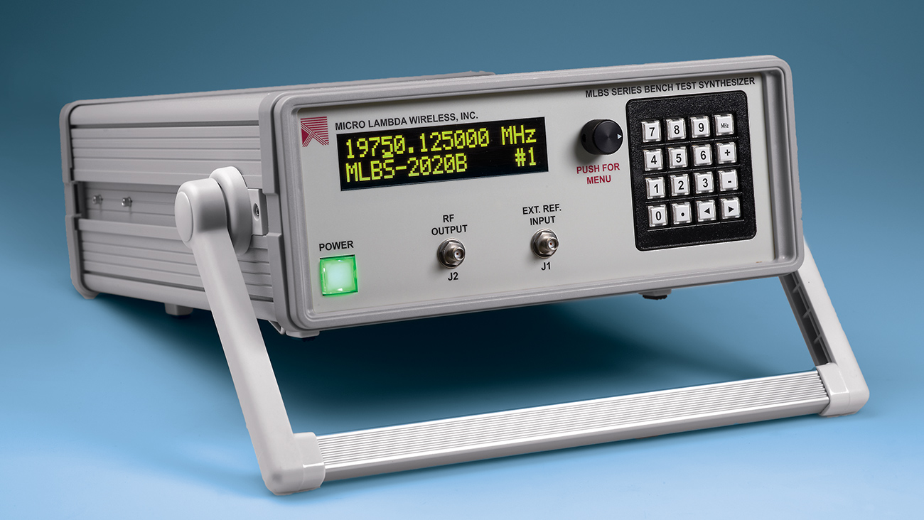 Benchtop YIG Synthesizers Offer Industry-Leading Phase Noise for Testing RF/Microwave Components and Systems