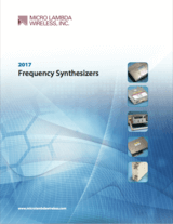 YIG synthesizers product guide